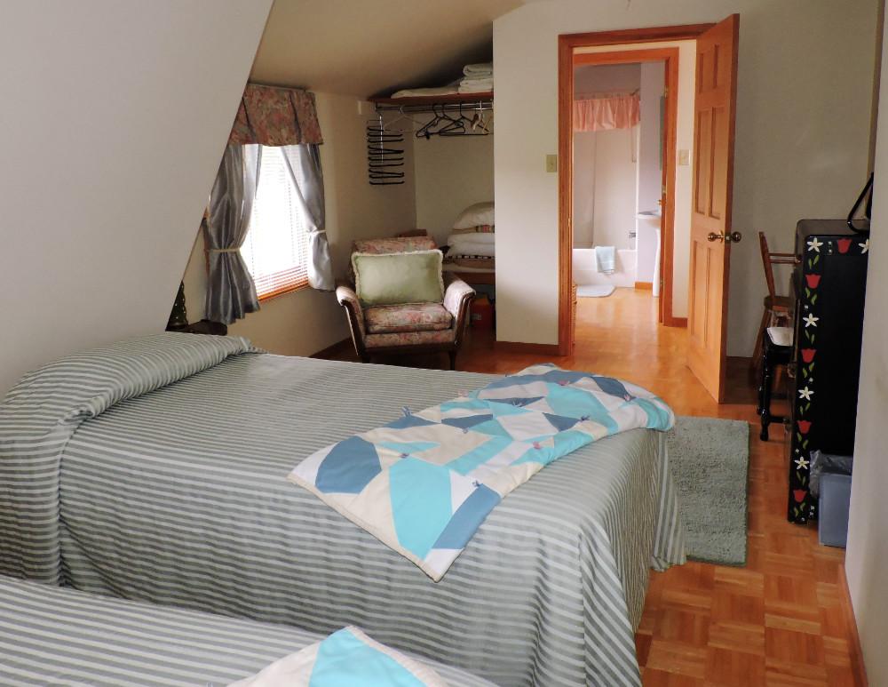 The Annex master bedroom