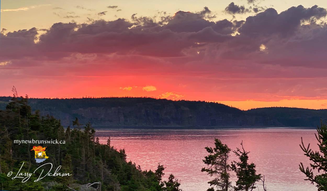 Sunset on Grand Manan Island, New Brunswick