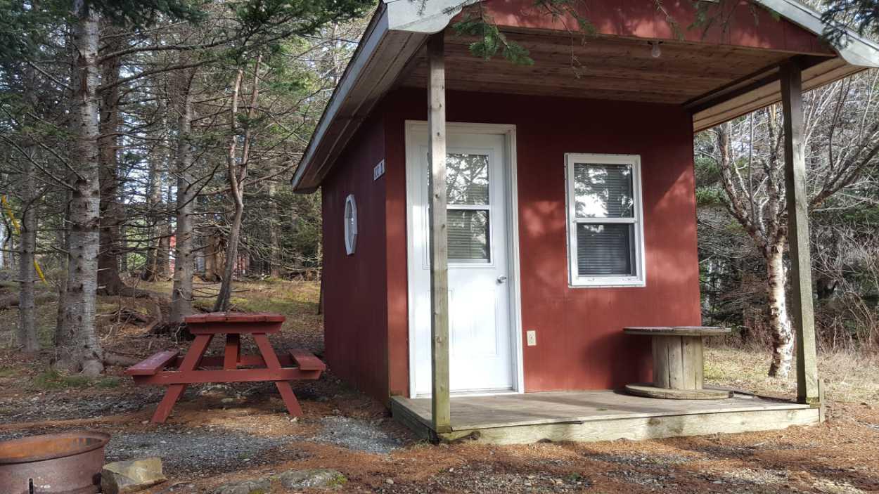 Camp cabin, North Head Campground & Park